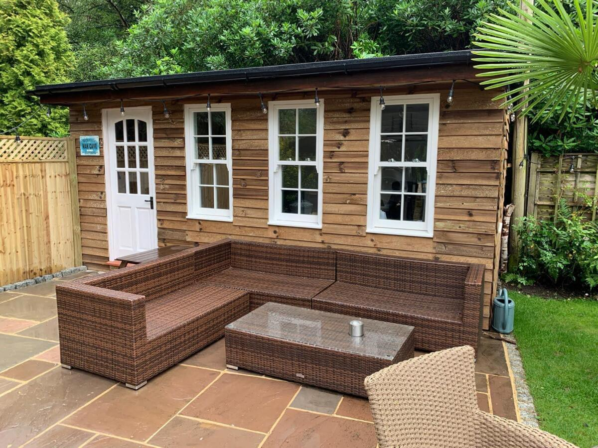 Smart outdoor spaces from Sunningdale homes Ltd Bespoke Garden outbuildings